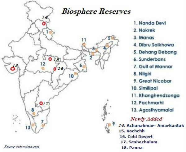 Biosphere Reserves In India Map Biosphere Reserves In India Map | compressportnederland Biosphere Reserves In India Map