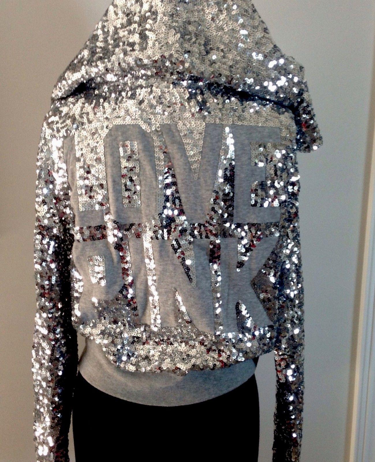 VS PINK Bling Sequin hoodie♥! | {νι¢тσяιαѕ ѕє¢яєт-ρ!ик ...