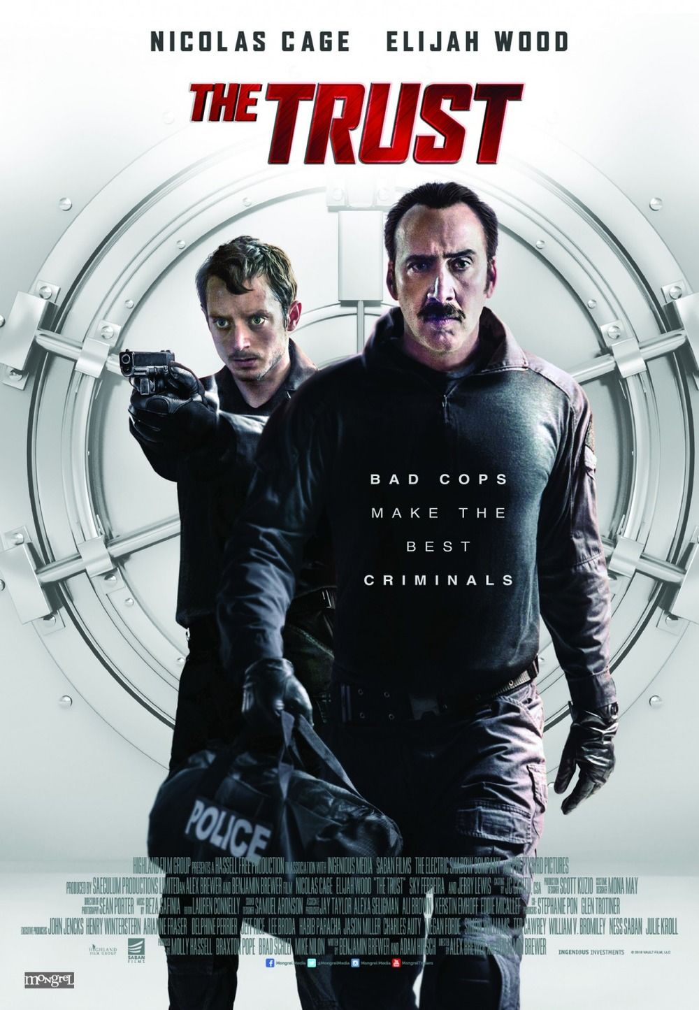 The Trust Blu ray, Nicolas cage, Video on demand