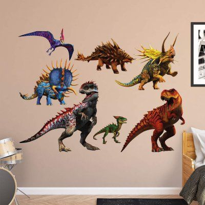 Fathead Dinosaurs Decal Group Two Wall Decal Dinosaur Wall