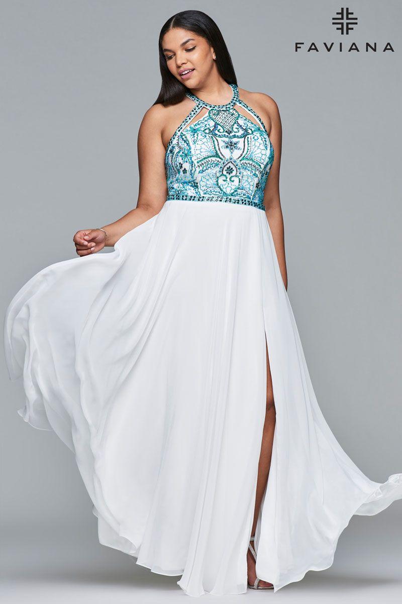 Faviana 9434 - Formal Approach Prom Dress | Faviana Dresses ...