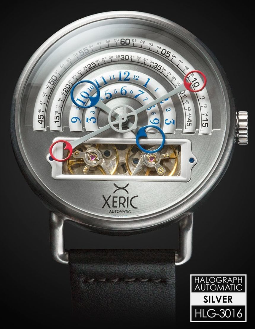 """Xeric Halograph Watches A Kickstarter Success, With Affordable Prices & Unusual Designs - by Patrick Kansa - see all about it: http://www.ablogtowatch.com/xeric-halograph-watch-kickstarter/ """"Between the various crowd-funding platforms that are available, there has been an explosion of new watch brands (and watches) entering the market. Some of these are derivative and really do not offer anything new or unusual. Past that, many are first-time efforts from some folks you have never heard of…"""