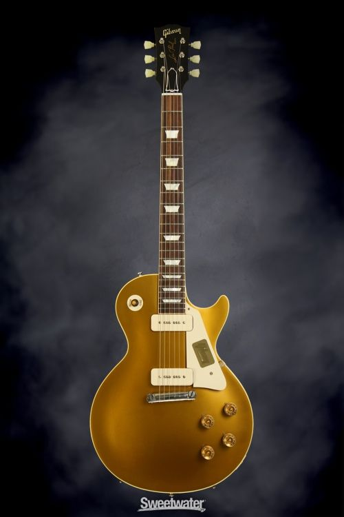 Gibson Custom 1954 Les Paul Goldtop VOS - Antique Gold | Sweetwater.com