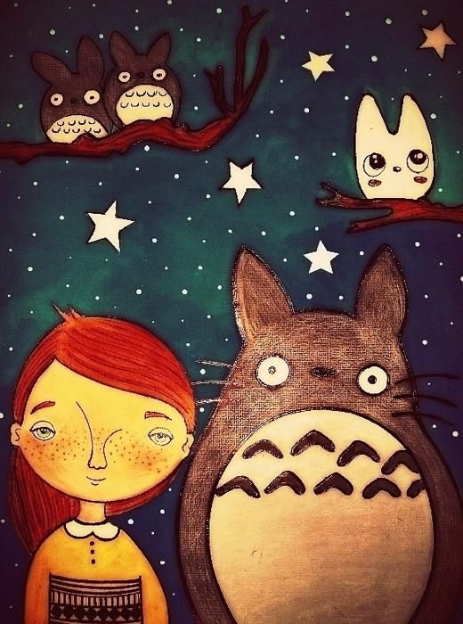 Karen Steph「Totoro night」