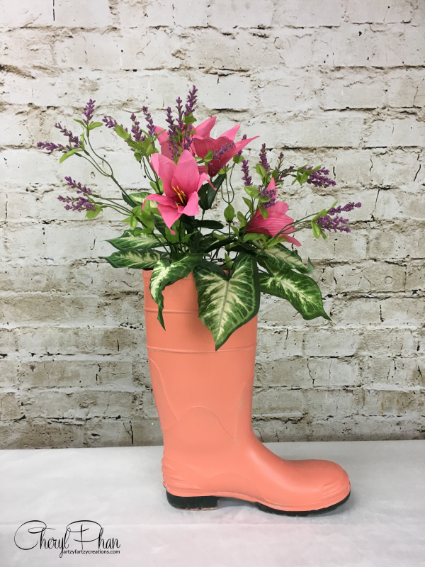 Repurposed Boot Planter Ideas For Spring Spring Boots Garage