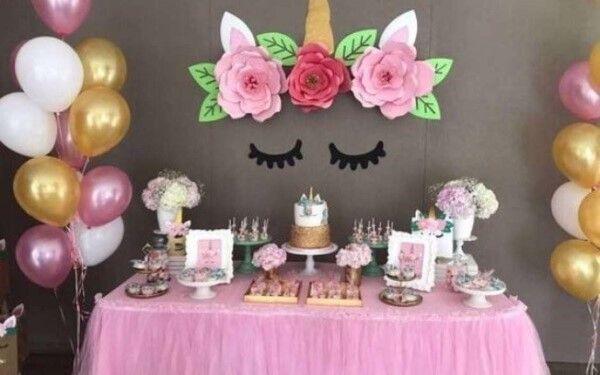 Festa Unicórnio: Ideias Simples, Decoração, Enfeites, Como Fazer