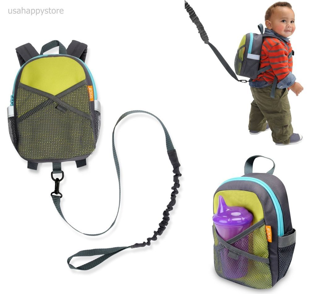 Toddler Kid Child Backpack Rucksack with Safety Harness Leash Reins Animal Bag