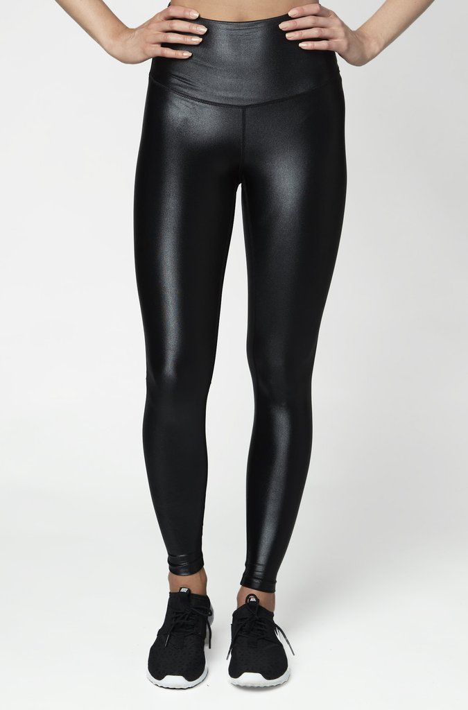 6b1fce3cfd High Shine Signature Tight Black in 2019 | Leggings | Tights ...