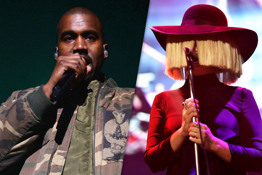 """Listen to Sia and Kanye's new track called """"Reaper."""" Fire."""