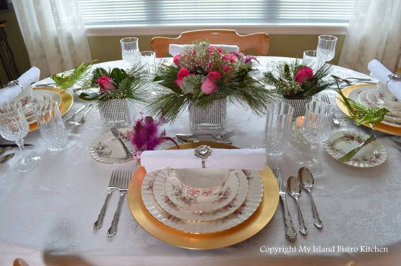 Christmas Eve Tablesetting and Dinner   irish table setting ...