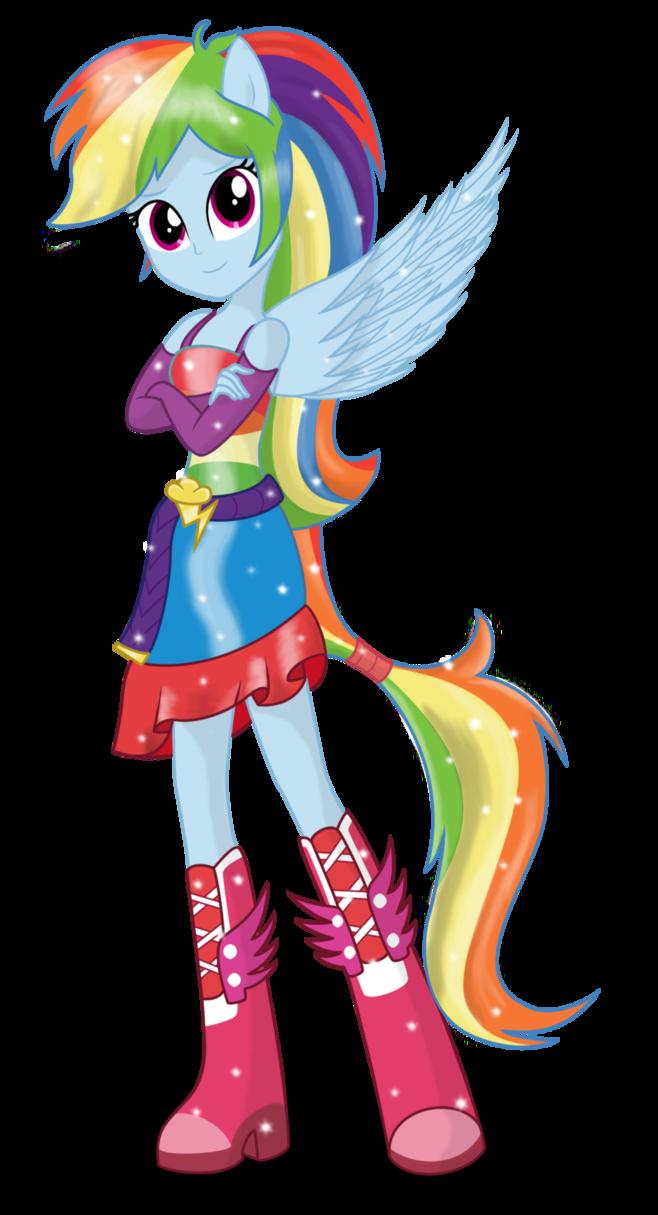 Rainbow Dash by DeannaPhantom13 on deviantART | My little ...