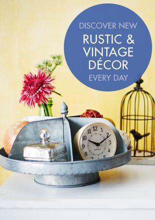 Rustic Vintage Home Décor Zulily