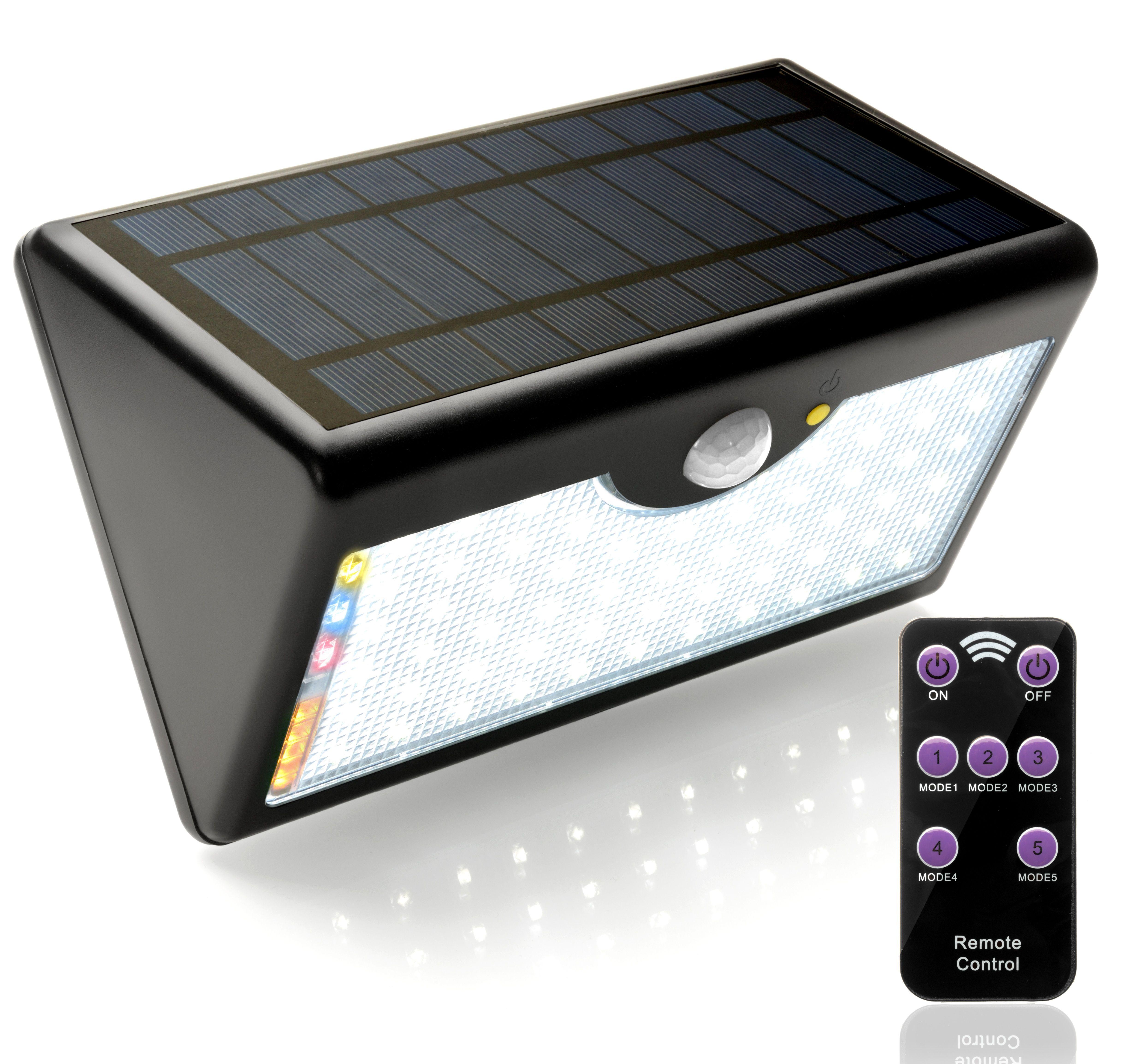 Ecosolarglb Luz Solar Led Lampara Foco Luces Solares 60 Leds Iluminación 1300 Lúmenes Con Sensor De Movimiento Luces Solares Exterior Lampara Foco Focos