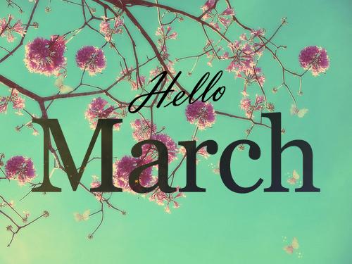 Arts By Kelly Inspiração Do Dia Bem Vindo Março