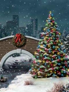 Paesaggi Di Natale 3d Innevati Gif Animate Www Drogbaster It240