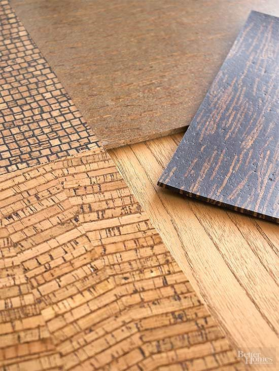 Cork Reuse Projects Cork Flooring Flooring Materials Basement Flooring