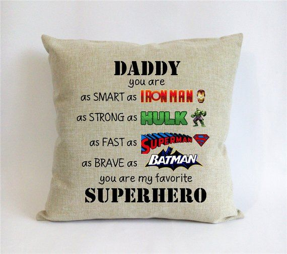 superhero father son gift-first fathers day gift from son