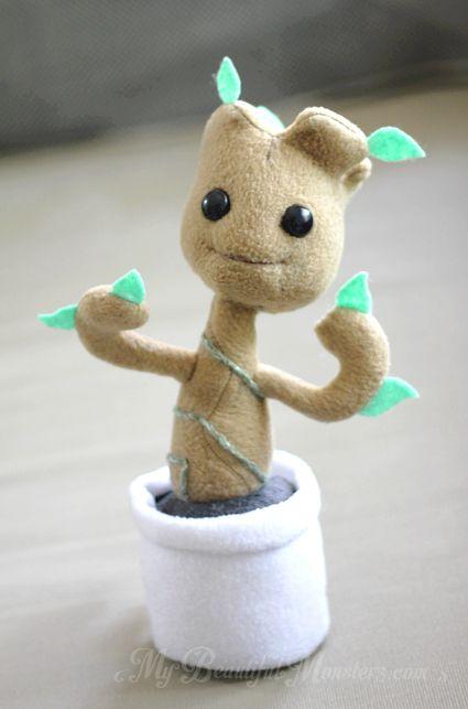 Chibi Baby Groot plush toy by MyBeautifulMonsters on DeviantArt ...