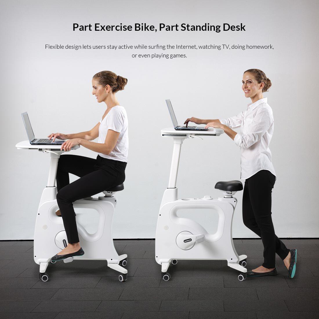 V9 Desk Bikes Part Standing Desk Part Exercise Bike With