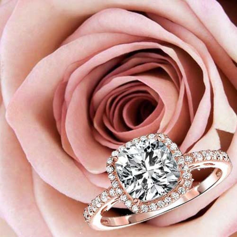 awesome 32 Stunning Cushion Cut Vintage Engagement Ring https ...