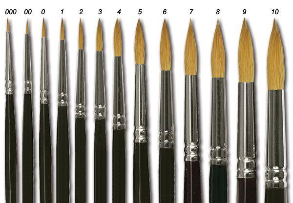 Winsor Newton Series 7 Watercolor Brushes Jerrysartarama Com