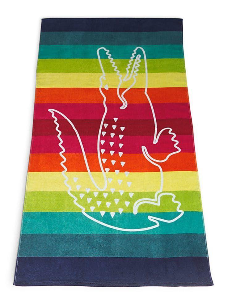 Crocostripe Ii Beach Towel Beach Towel Towels Kids Towel
