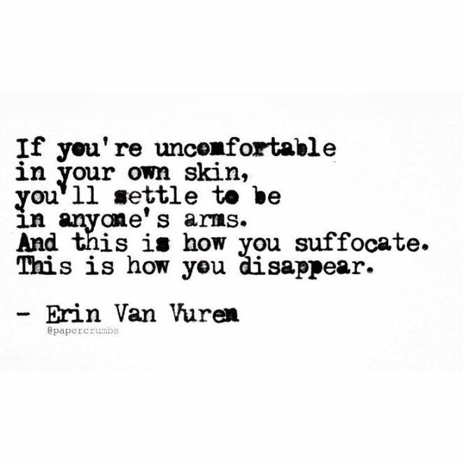 Sad And Depressing Quotes :- Erin Van Vuren (@papercrumbs)…