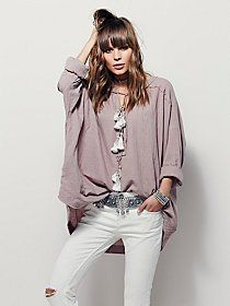 Bridgette Peasant Top at Free People Clothing Boutique
