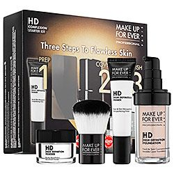 make up for ever hd complexion starter kit in 110 pink