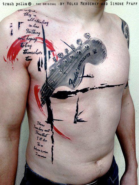 As incríveis tatuagens de Volko Merschky e Simone Pfaff Tatuaje de
