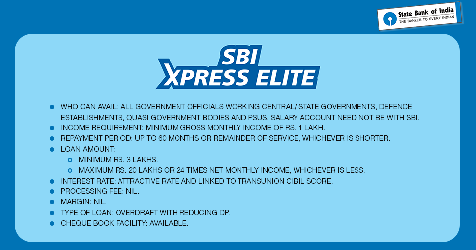 Sbi Is Here With Another Offering That Makes Getting Loans Simpler For Salaried Class The Xpress Credit Personal Loan Is The Soluti Personal Loans Person Loan