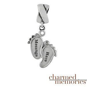 Charmed Memories Baby Bangle Bracelet Sterling Silver Hd7VVrtWZ