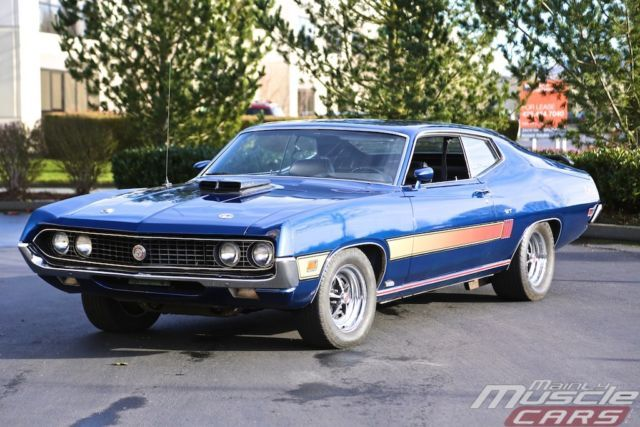 1970 Ford Torino GT 429CJ TASCA Car - RARE FORD MUSCLE - Lower ...