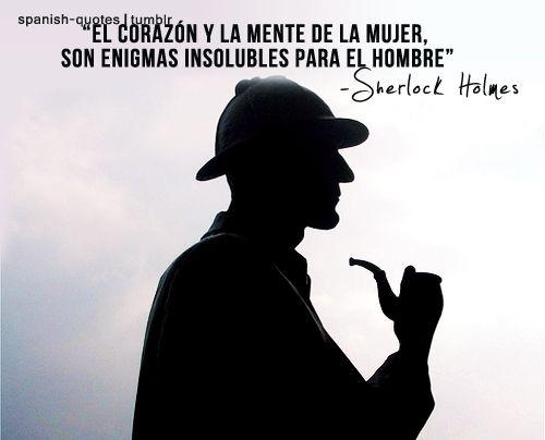 Tumblr Sherlock Holmes Frases