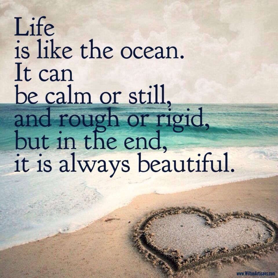 Inspirational Quotes About Positive: Coastal Inspiration!