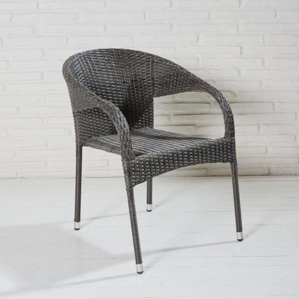 6er set gartenstuhl stapelstuhl stapelsessel rundlehne. Black Bedroom Furniture Sets. Home Design Ideas