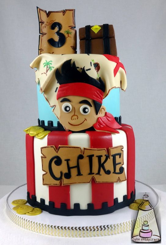 Jake And The Neverland Pirates Birthday Cake Boy Birthday Cakes
