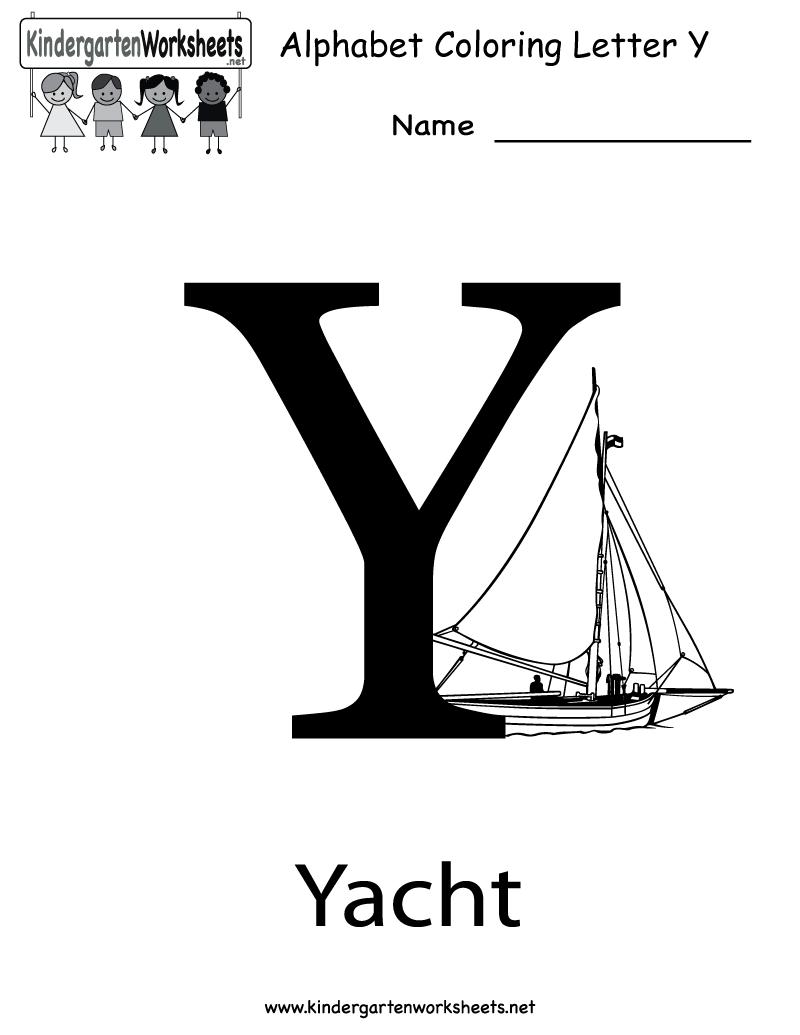 math worksheet : 1000 images about pre k quot;y quot; on pinterest  letters letter y  : Letter Y Worksheets Kindergarten