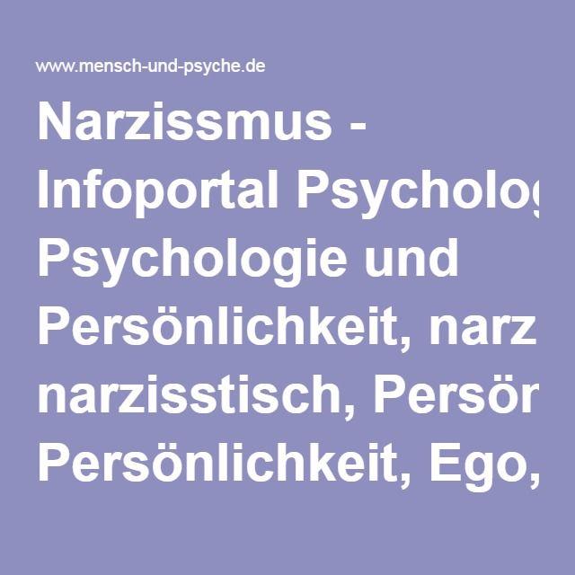 Narzisstische Persönlichkeitsstörung Symptome Test