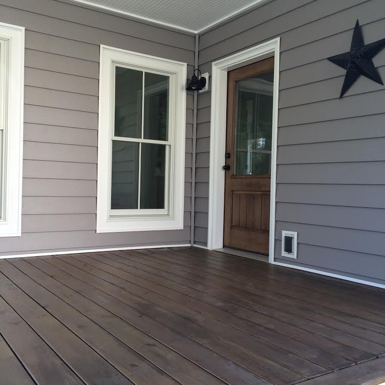 Home Deck Colors House: Behr SemiTransparent In Cordovian Brown