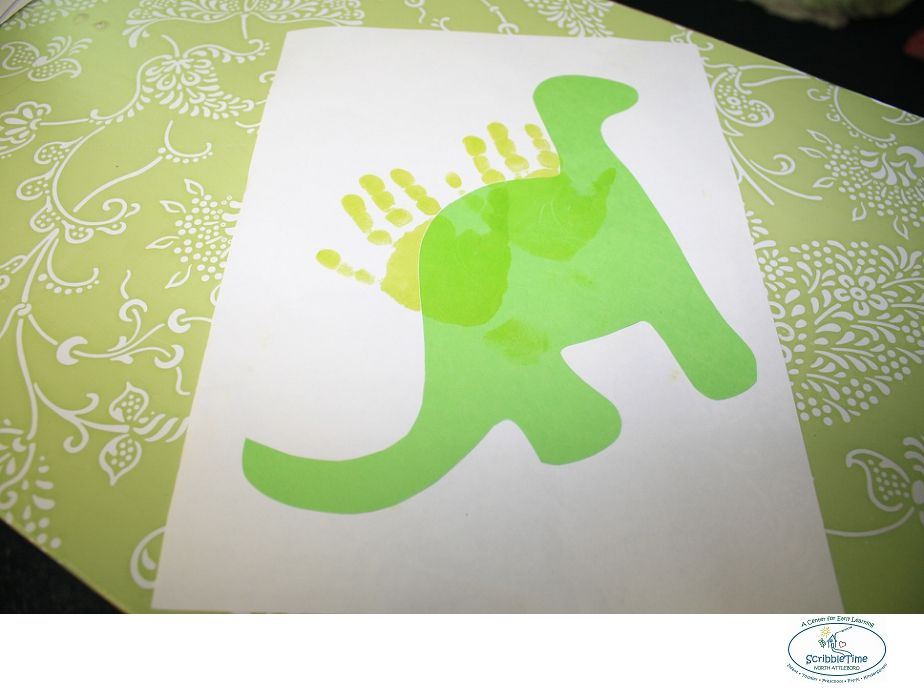Dinosaur Art Projects For Toddlers
