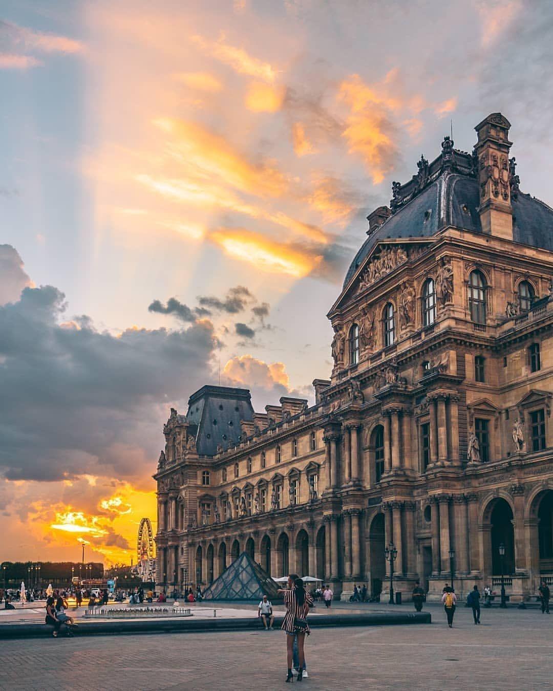 Paris Parisfrance Museedulouvre Iloveparis Parisarchitecture Photography France Musee Du Louvre Louvre Hotel Des Invalides