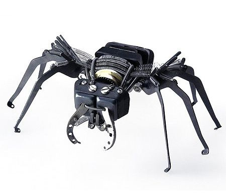 Amazing Sculptures From Typewriter Parts