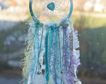Small Dream Catcher Dreamcatcher Crystal Dream by InspiredSoulShop