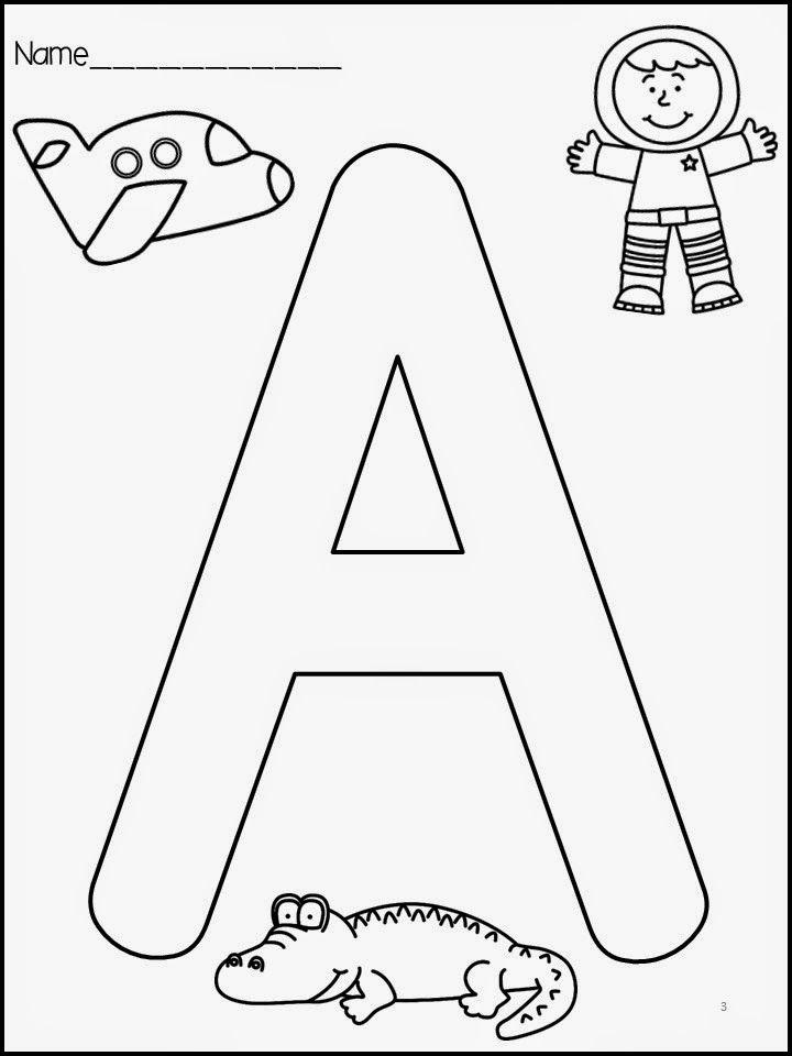 The Razzle Dazzle Classroom: Letter Identification
