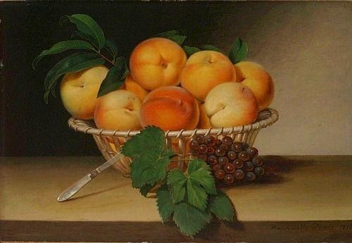 Raphaelle Peale Basket of Peaches 1816*