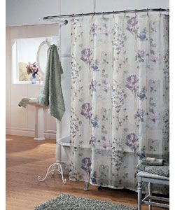 Attirant Wisteria Fabric Shower Curtain   Overstock™ Shopping   Great Deals On Shower  Curtains