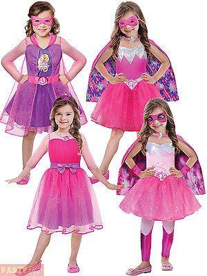 Barbie Halloween Costume Kids.Pin By Imee Santos On Aj Superhero Costumes Kids Barbie Costume