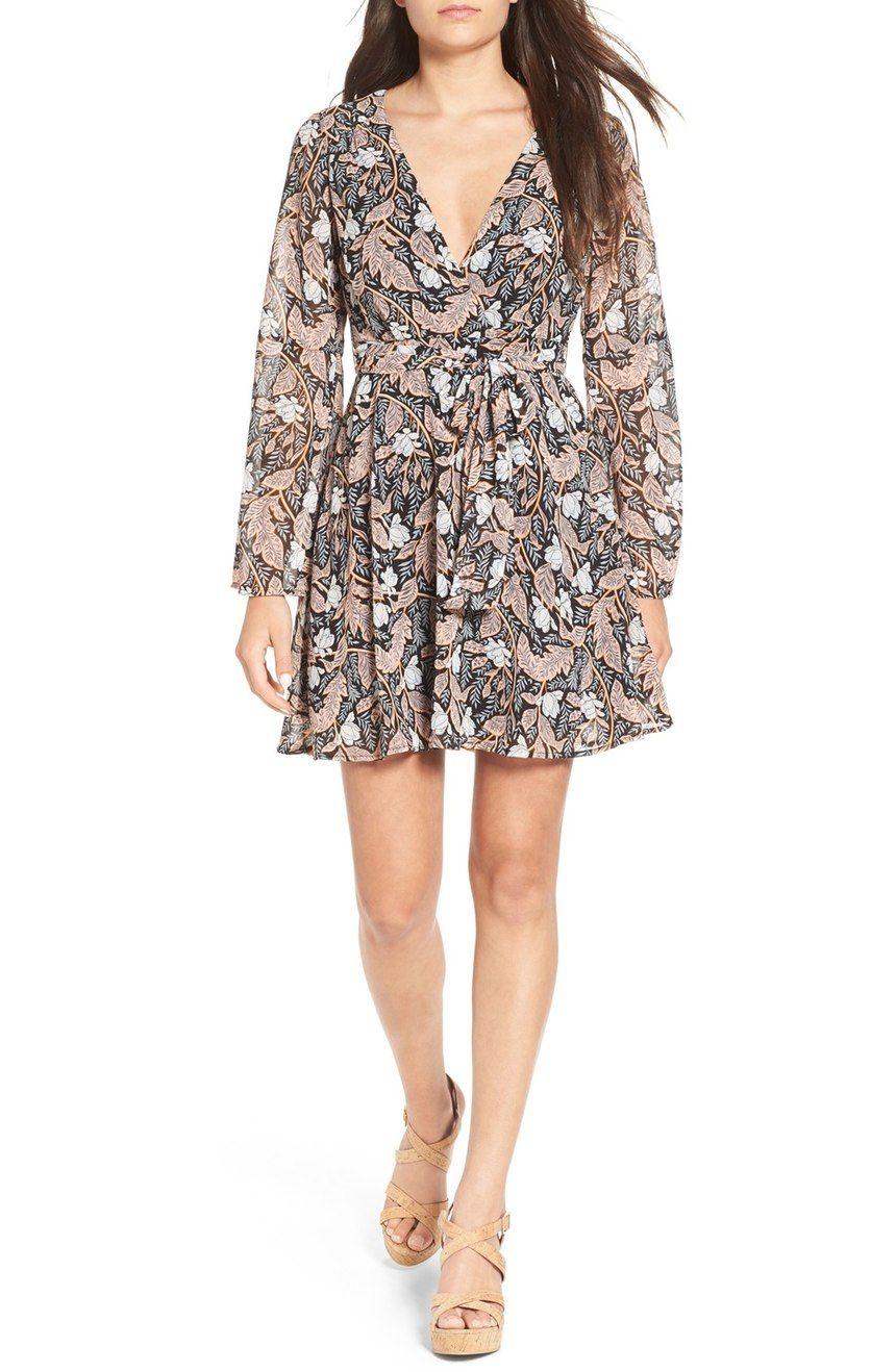 f4de01b4 Floral Wrap Dress Nordstrom   Saddha