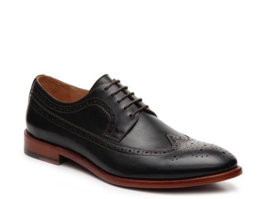 Men's Warfield & Grand Oakwood Wingtip Oxford - Black